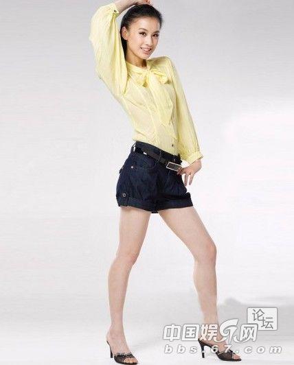 盘点腰长腿短的女星 黄圣依锥子腿林心如腰细 9