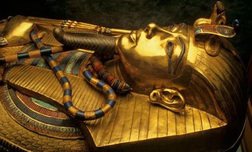 图坦卡蒙不是古埃及功绩最卓著的法老,却是当今世界最闻名最神秘的图片