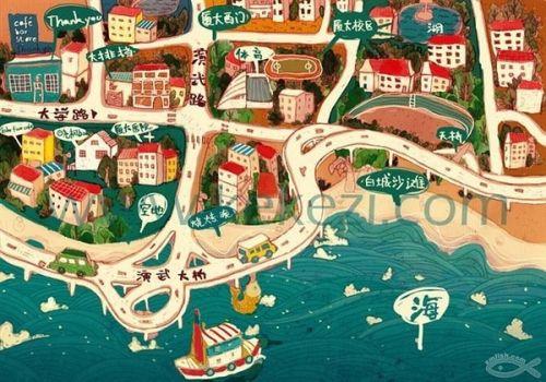 """国歌葩地图""""的图标,告诉你不同地域的人们在KTV里的各自特点,这"""