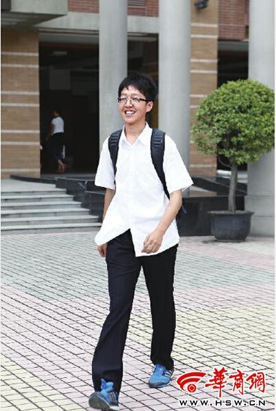 李强/陕西省理科第一名李强自称在班里不是最勤奋的