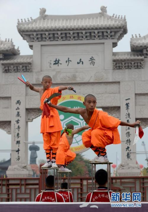 第十届中国郑州国际少林武术节开幕