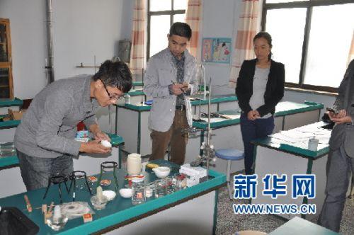 潍坊坊子举行中小学实验教师技能大赛