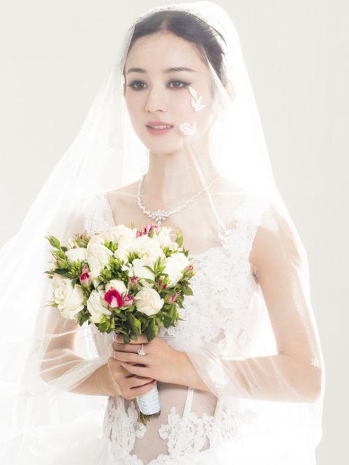 赵丽颖 披上Jade Bridal做个最幸福美新娘
