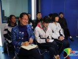 北京房山职业学校的学生代表与老师参与现场互动。 中国青年网记者王东伟 摄