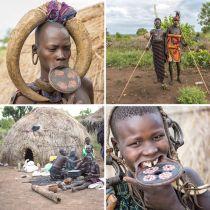 埃塞俄比亚的唇盘族