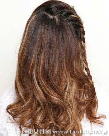 中长发发型扎法 优雅造型轻松搞定