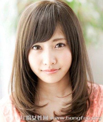 甜美可爱烫发发型图片 2015最新女生中发烫发发型 .