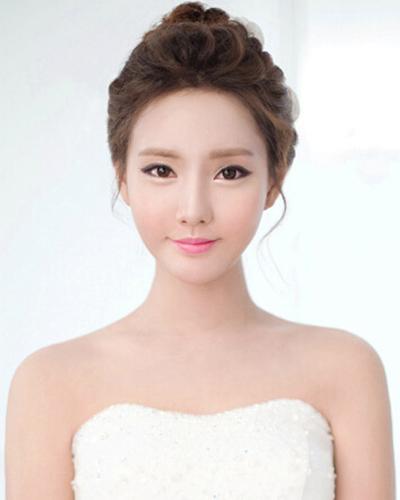 最唯美新娘韩式发型图片 以最美状态出嫁