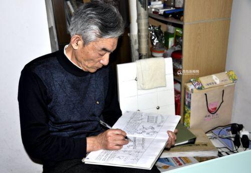 独家:退休老画笔自创微型漫画妈妈描绘中国梦漫画的图片教师图片