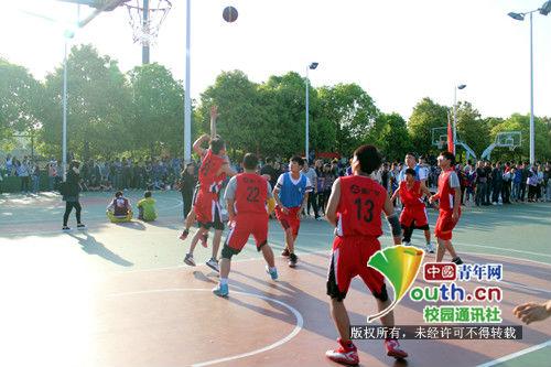 湖南农业大学动物医学院篮球小组联赛隆重举行