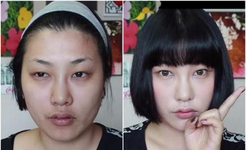 不喜欢女友化妆