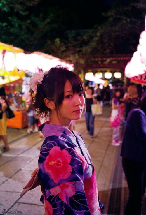 策划:和风物语!日本女星绝美和服写真清新脱俗