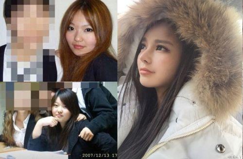 疑似罗志祥女友周扬青整容前后对比照 曾是普通胖妞 组图 5