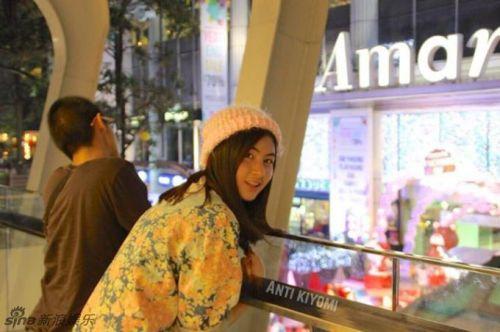 泰国日本混血美女走红网络a网络似v网络[10]su美女图片