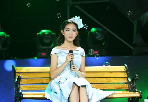 姚紫涵登中国小童星演唱会