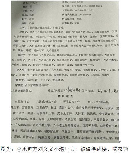 北京通州:农民工多次讨薪未果 承包商无奈喝农药2