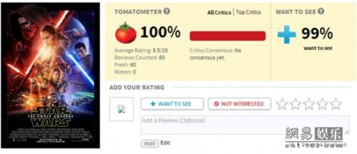 外媒齐刷刷好评!《星战7》被赞最牛:不能更完美