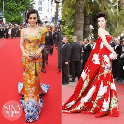 看惯了传统的欧式红毯大裙子和西方面孔