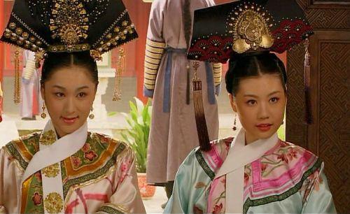 富察皇后衣服花纹