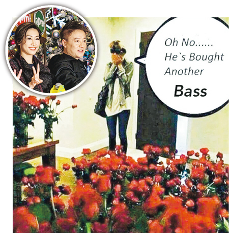 So touched! Nancy eligible boyfriend concocted roses sea (Figure)