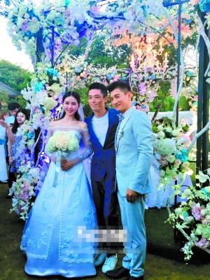 """[微博]与""""若曦""""刘诗诗[微博]的婚礼昨日在巴厘岛举行"""