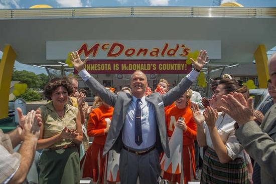 【明星爆料】《创始人》曝新剧照 迈克尔·基顿打造麦当劳
