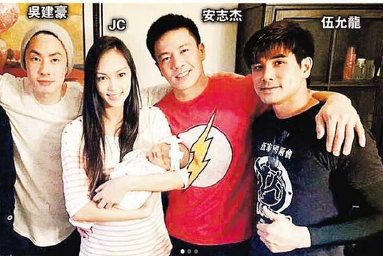 【明星爆料】吴建豪探安志杰女儿 Jessica C产后极速收身