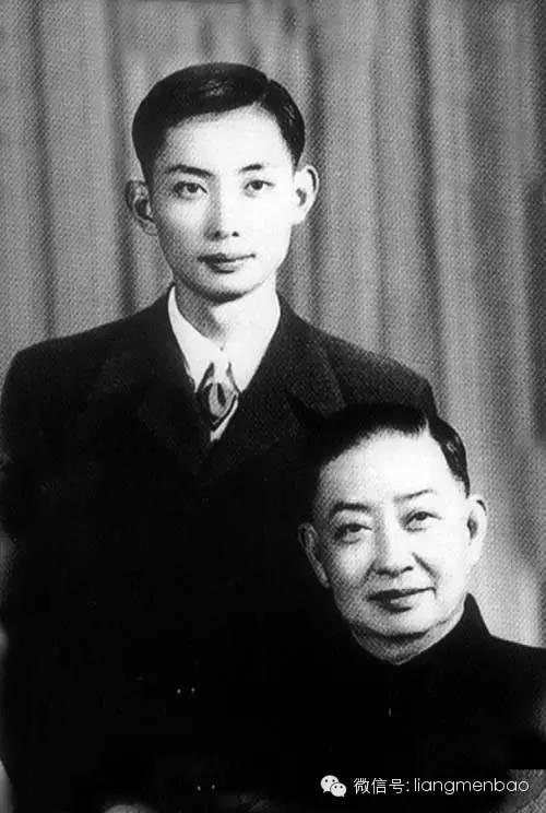 梅葆玖与父亲梅兰芳