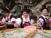 Конкурс мастеров-бумагоделов в уезде Даньчжай