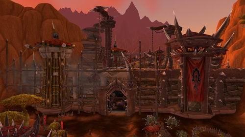 魔兽世界5.2新模型抢先看 暴风城重建完成